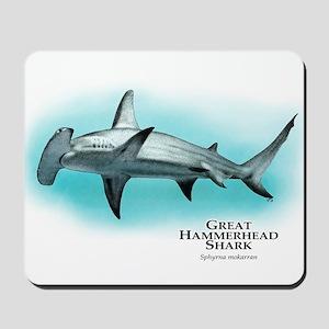 Great Hammerhead Shark Mousepad
