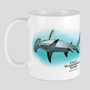 Great Hammerhead Shark Mug