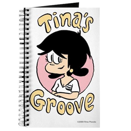 Tina Face With Logo Journal