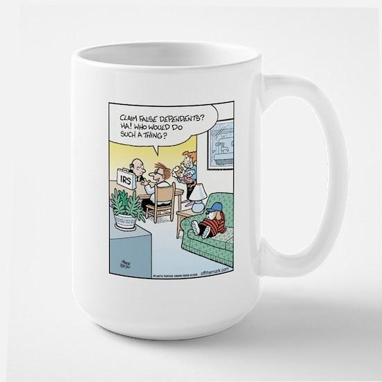 False Dependents Large Mug