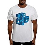 Blue Cubes Light T-Shirt