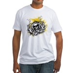 Skull Crossing Fitted T-Shirt