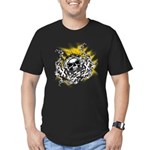Skull Crossing Men's Fitted T-Shirt (dark)