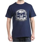 Spray Painted Skull Dark T-Shirt