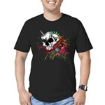 Dagger And Skull Men's Fitted T-Shirt (dark)