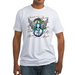 Skull & The Serpent Fitted T-Shirt