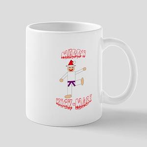 Martial Arts Christmas Mug