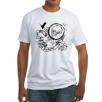 Skull & Scroll Fitted T-Shirt