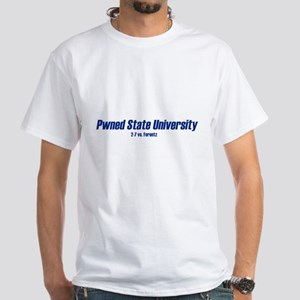 Pwned State White T-Shirt