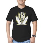 Faith & Light Men's Fitted T-Shirt (dark)