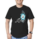 Open Sea Men's Fitted T-Shirt (dark)