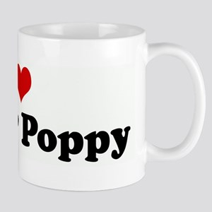 I Love Nana & Poppy Mug