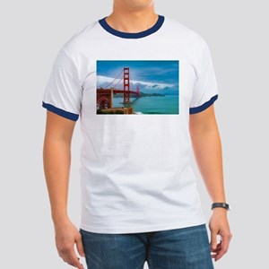 Stunning! Golden Gate Bridge San Francisco T-Shirt