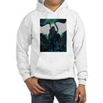 black pegasus Hooded Sweatshirt