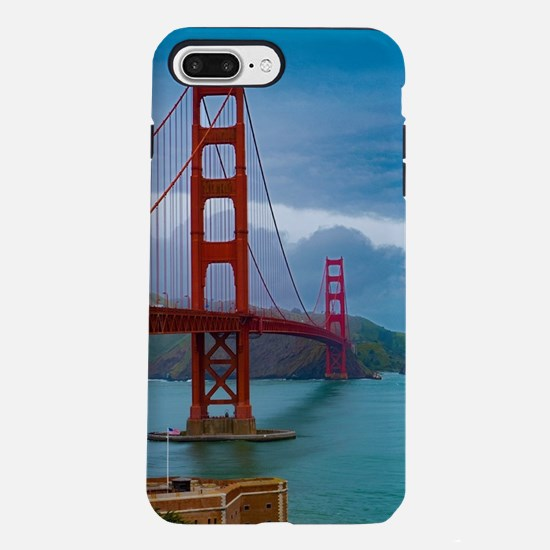 Stunning! Golden Gate Bri iPhone 7 Plus Tough Case
