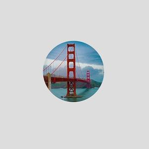 Stunning! Golden Gate Bridge San Franc Mini Button