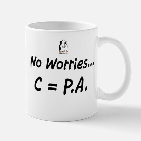 No Worries - C=PA Mug
