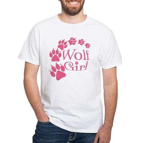 Breaking Dawn-Wolf Girl White T-Shirt