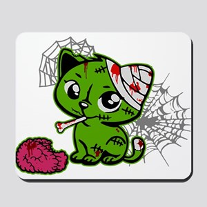Zombie Kitty Mousepad