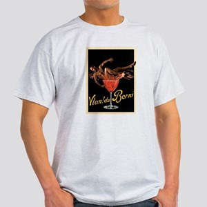man in wine Light T-Shirt