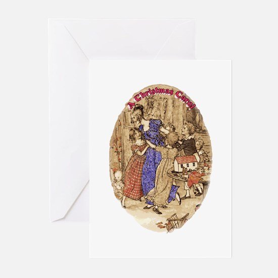 Belle with her Brood Greeting Cards (Pk of 10)