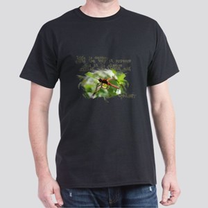 Dragonfly design Dark T-Shirt