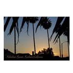 Suburban Sunset, CA Postcards (Package of 8)