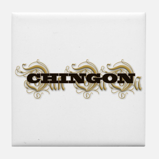 CHINGON Tile Coaster