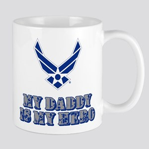 USAF My Daddy is my Hero 11 oz Ceramic Mug