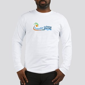 Amelia Island FL Long Sleeve T-Shirt