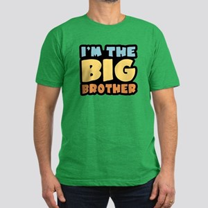 I'm The Big Brother Men's Fitted T-Shirt (dark)