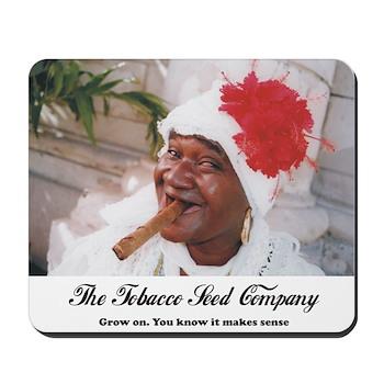 The Tobacco Seed Company Mousepad