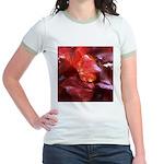 Red Leaves Jr. Ringer T-Shirt