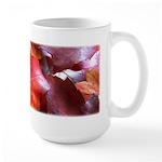 Red Leaves Large Mug