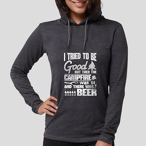 Campfire And Beer t-shirt Long Sleeve T-Shirt