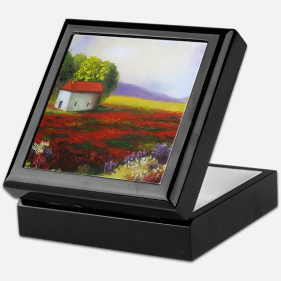 LANDSCAPE PAINTING Keepsake Box
