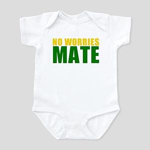 No Worries Mate Infant Bodysuit
