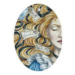 Alice in Wonderland Oval Ornament