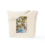 Alice in Wonderland Tote Bag