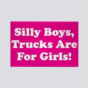 Silly Boys Rectangle Magnet