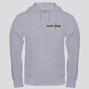 Amelia Island FL. Hooded Sweatshirt