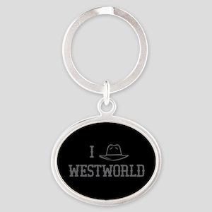 I Black Hat Westworld Keychains