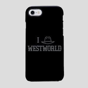 I Black Hat Westworld iPhone 7 Tough Case