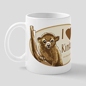 I Love Kinkajou Mug