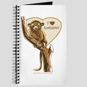 I Love Kinkajou Journal