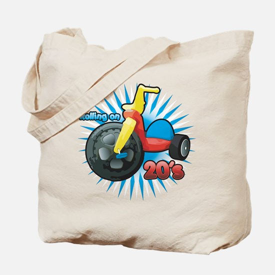 Rolling on 20's Tote Bag