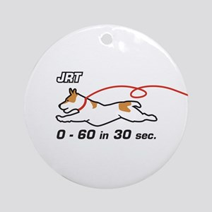 JRT 0-60 in 30 sec. Ornament (Round)
