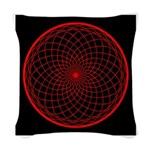 Woven Throw Pillow - Red Unity