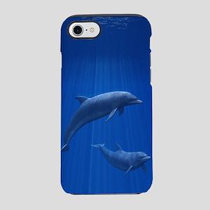 Dolphin Couple iPhone 7 Tough Case