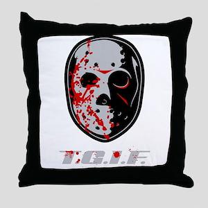 TGIF Jason Throw Pillow